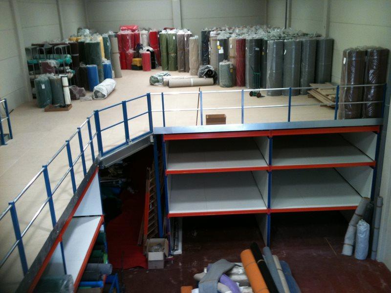 soluciones de almacenamiento entreplantas