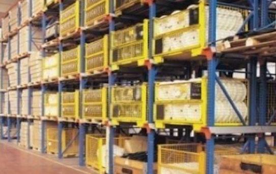 estanterías industriales estantería uniload
