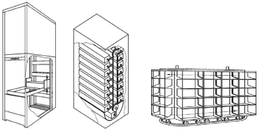 estanterías industriales estanteria carrusel