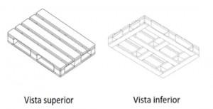 equipo de manutención paleta con tablas inferiores