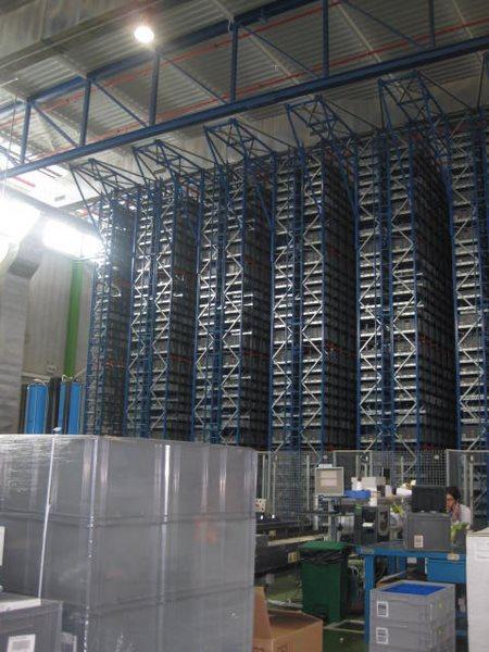 sistema de almacenaje automático Miniload