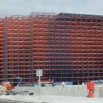 CE marking of rack clad buildings