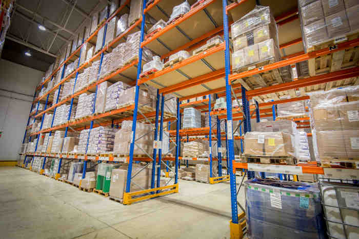 Pallet racking from Noega Systems
