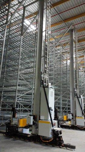 Sistemas de almacenaje automaticos Miniload de cajas