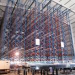 sistemas de almacenaje automáticos-Estantería para carga paletizada operada por transelevador