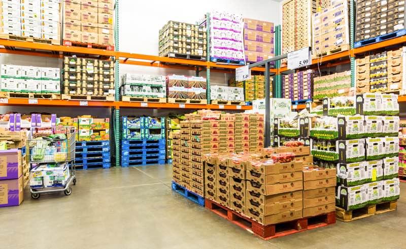 Clasificación de mercancías y sistemas de almacenamiento