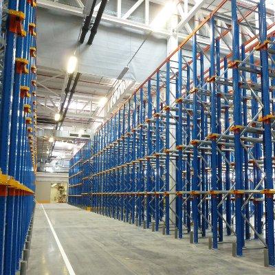 Estantería compacta, sistema de almacenamiento compacto