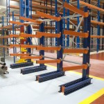 estanterias cantilever para cargas ligeras y pesadas