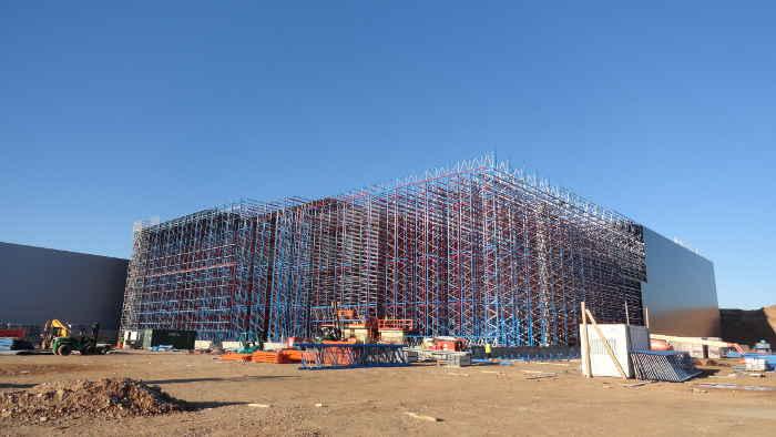 rack clad building